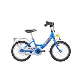 """Puky ZL 16-1 Alu Børnecykel 16"""" blå"""